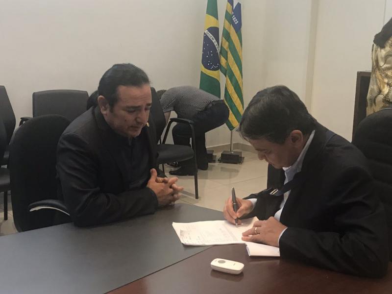 Pré candidato a deputado estadual Francis Lopes participou de reunião na residência do governador.