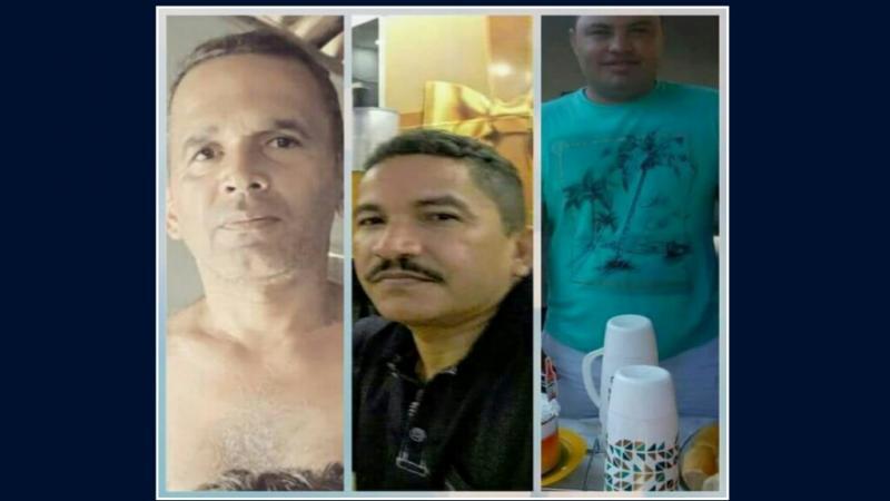 Vereador Totonho, Cícero Rocha e Júnior do Nasa/Reprodução