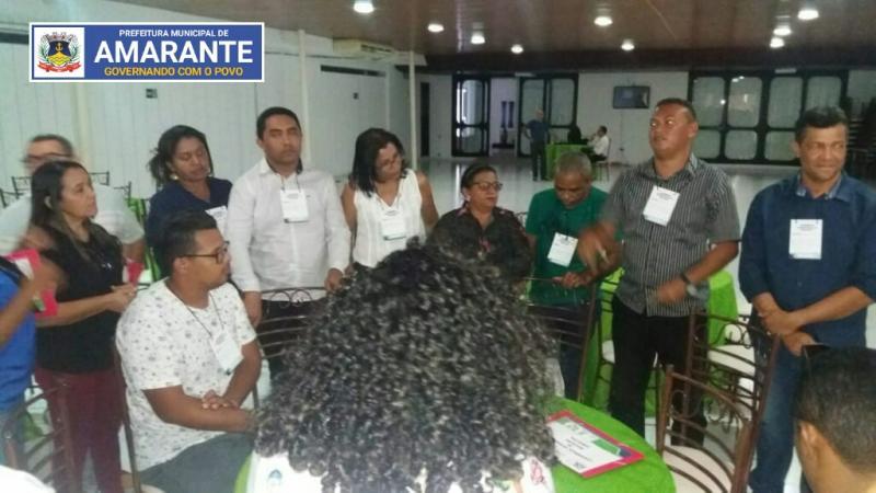 Delegados de Amarante participam de conferência educacional do Território Entre Rios