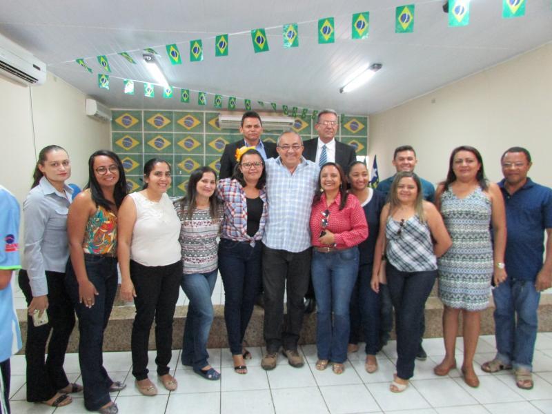 Câmara de Vereadores de Conceição do Canindé encerra semestre de 2018.1 com confraternização