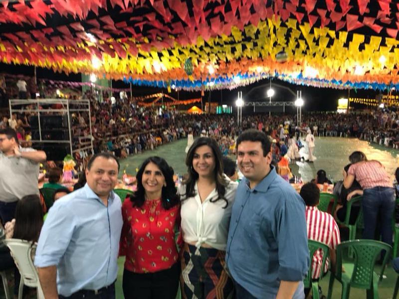 Pré candidato a senador Dr. Marcos Vinícius cumpre agenda em Valença do Piauí