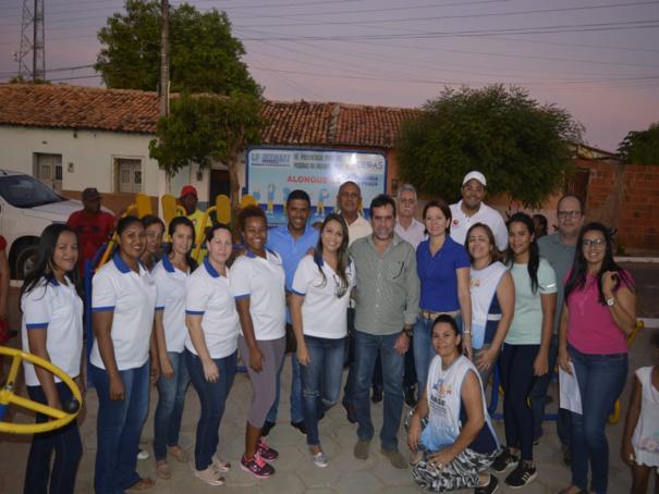 Academia da Saúde é inaugurada no Bairro Rosário em Oeiras