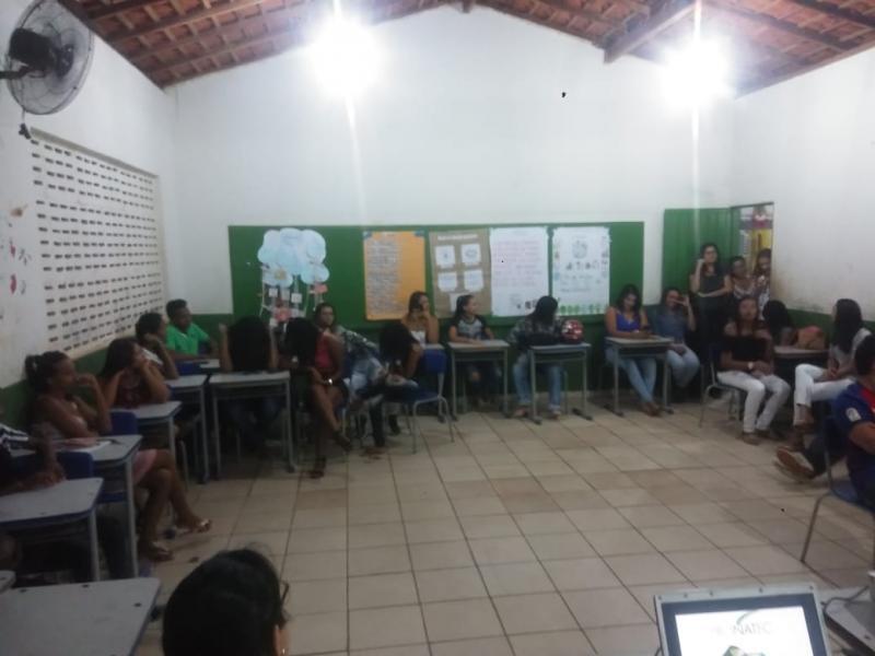 Aula inaugural do curso de microempreendedor Individual em São Gonçalo do Gurguéia