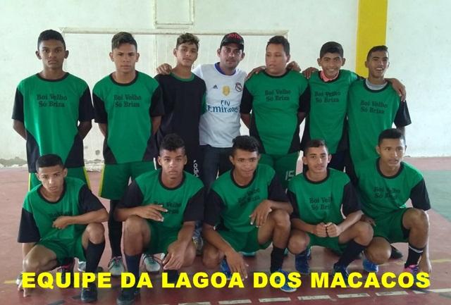 De virada, equipe da Lagoa do Macacos goleia Amargosa por 5 a 1 pelo Intercolegial de Futsal 2018