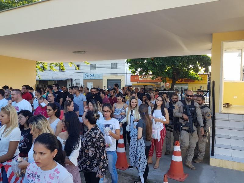 Abstenção na prova de perito da Polícia Civil do PI foi de 29,75%