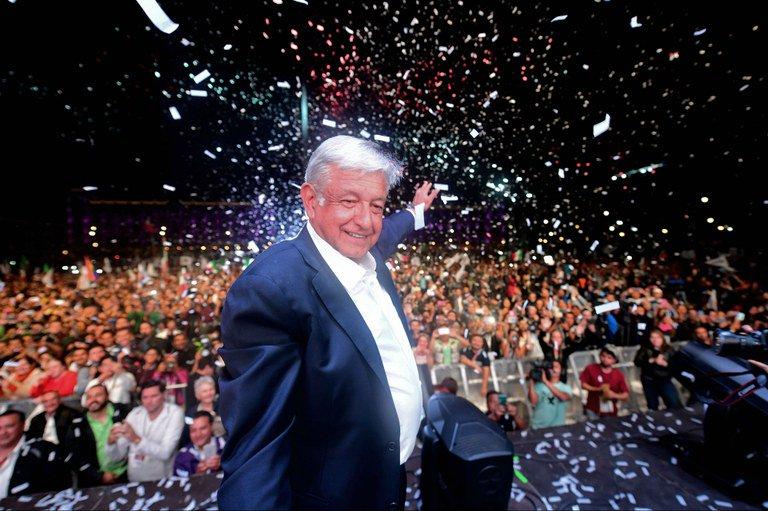 López Obrador é eleito presidente do México em vitória histórica