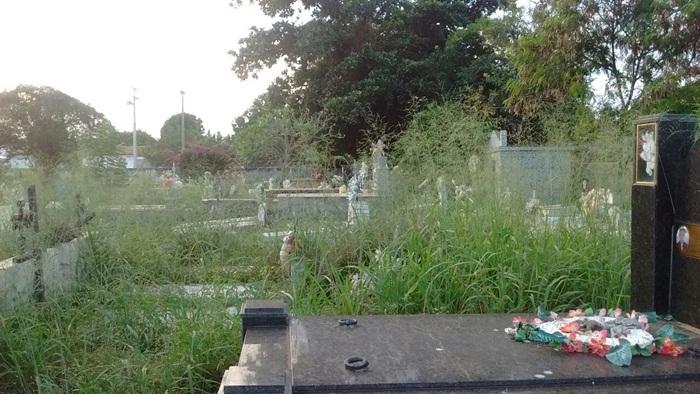 Moradores de Esperantina reclamam do abandono do principal cemitério da cidade