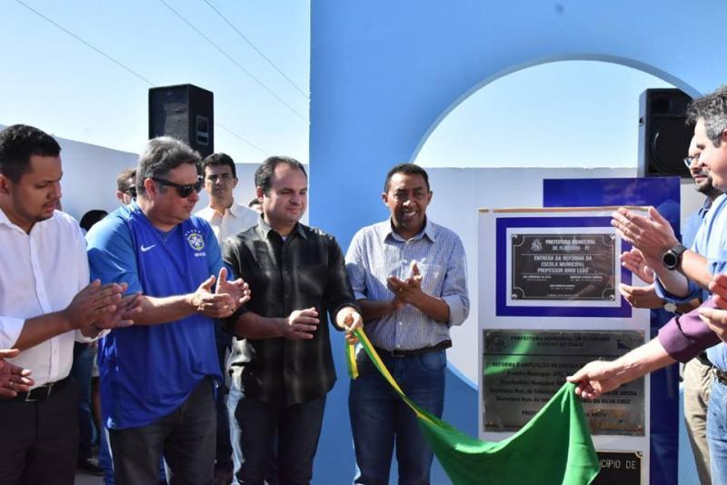 Reforma da Escola Municipal Binu Leão é entregue à população
