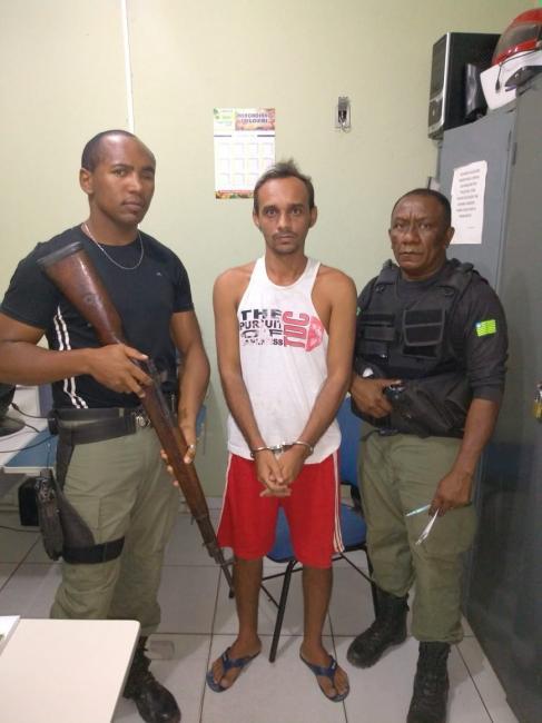 Acusado de homicídio em Canto do Buriti é preso pela Delegacia Regional de Oeiras
