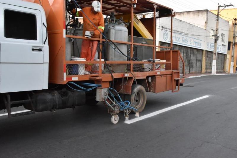 Ações de sinalização e organização do trânsito têm início em Floriano