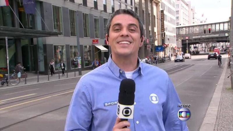 Repórter da Globo é agredido por torcedores na Rússia
