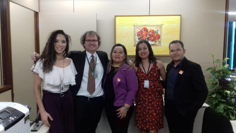 Secretário de Educação Franklin Lima Leal participa de audiência em Brasilia