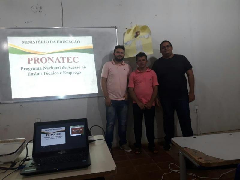 Início do Curso de Técnico em Vendas pelo PRONATEC em Campo Largo