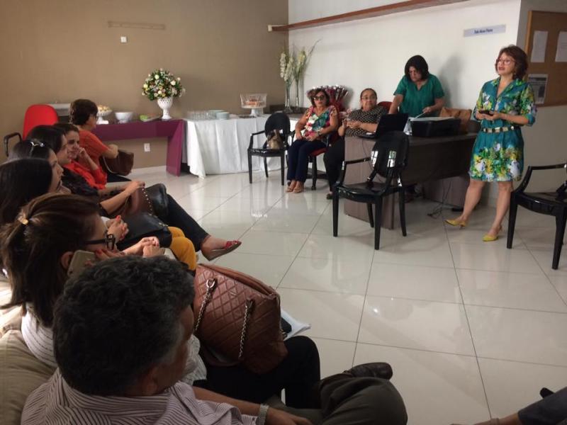 Auditores fiscais do trabalho realizam ato em Teresina