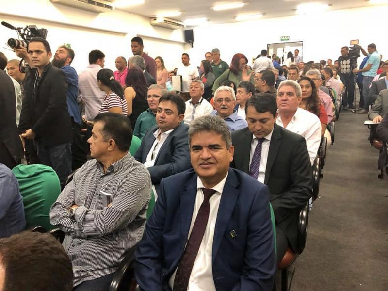 Prefeito Murilo Mascarenhas assina convênio para o Programa Avançar Cidades - Mobilidade Urbana