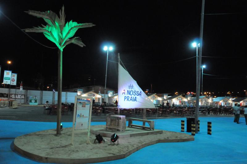 Veja a lista de atrações na Praia de Verão do Teresina Shopping