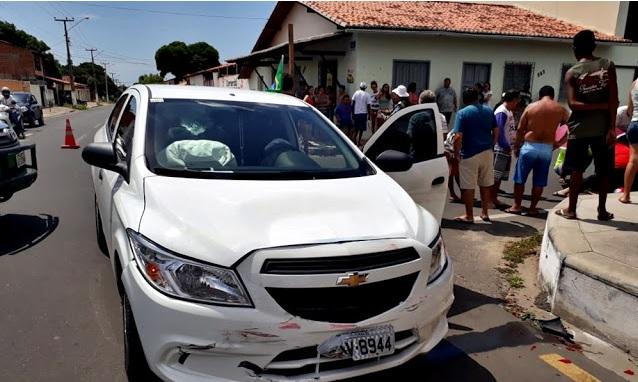 Policial fica gravemente ferido após colisão no Piauí