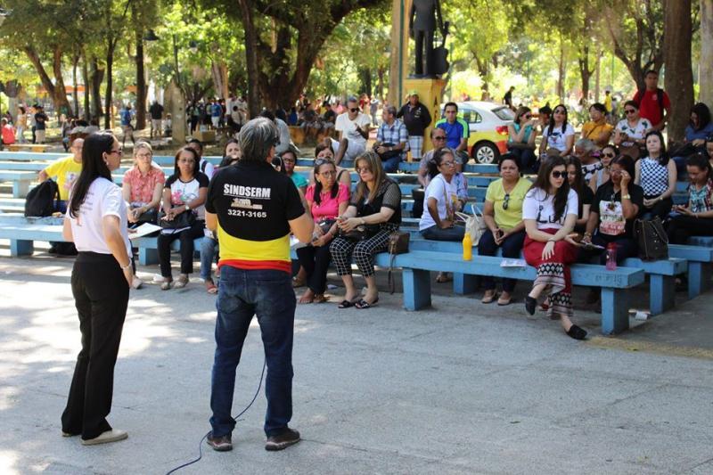 Servidores da Saúde de Teresina iniciam greve nesta quinta