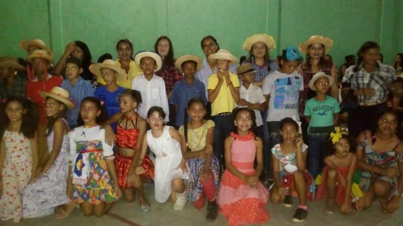 Assistência Social de Gilbués realiza evento junino