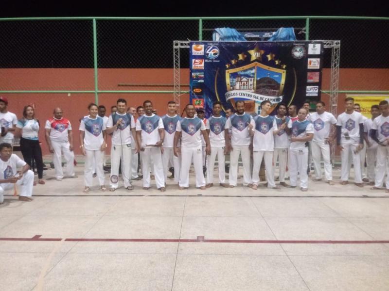 Jogos Centro-Sul de Capoeira reúnem capoeiristas em Oeiras