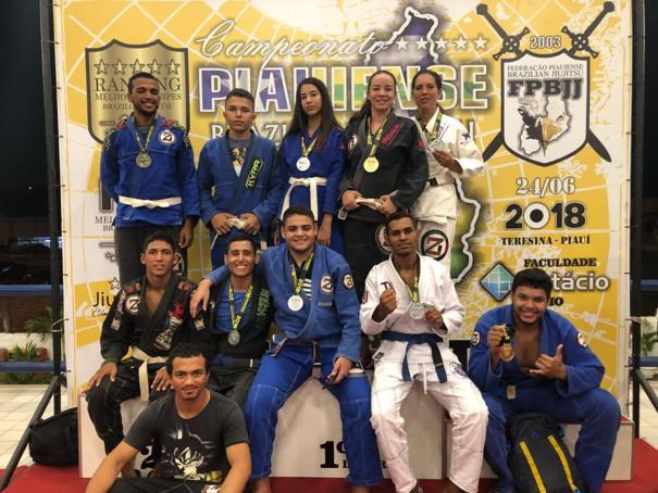 Oeirenses se destacam no Campeonato Estadual de Jiu Jitsu em Teresina