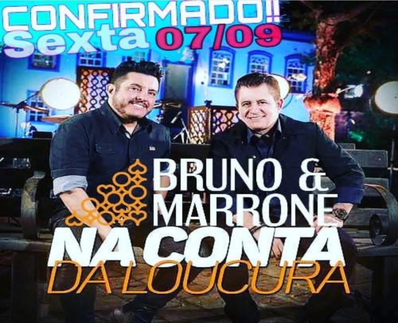 Terraço show confirma Bruno e Marrone em Oeiras
