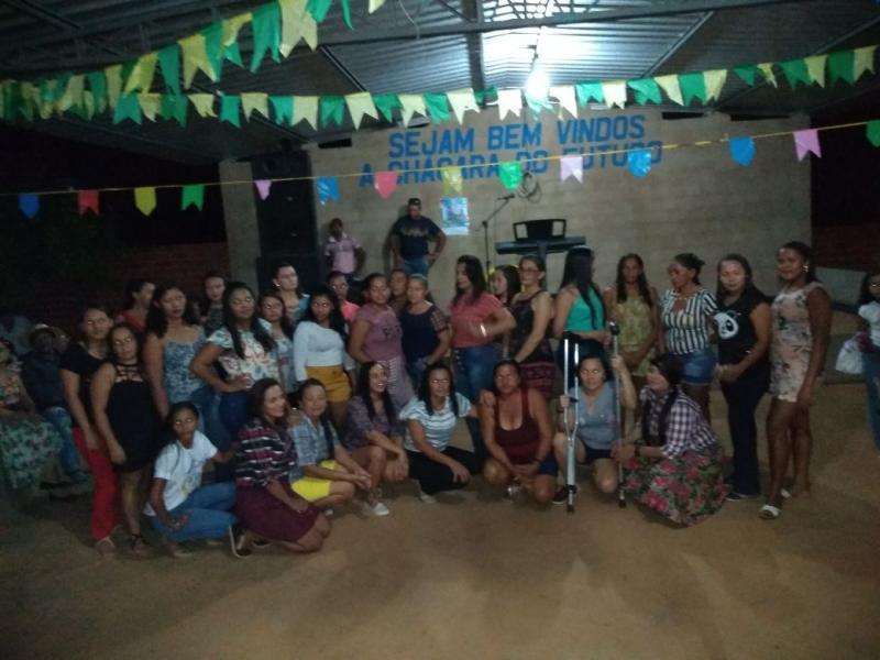 Arraiá em Barra D'Alcântara reuniu grupo de idosos do SCFV e grupo de Mulheres -PAIF
