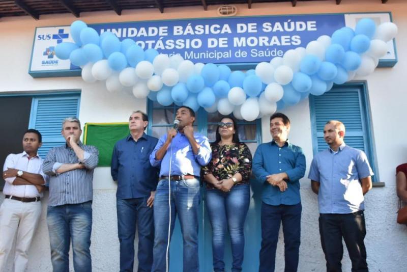 Prefeito Joel Rodrigues entrega reforma da Unidade Básica de Saúde Protássio de Moraes