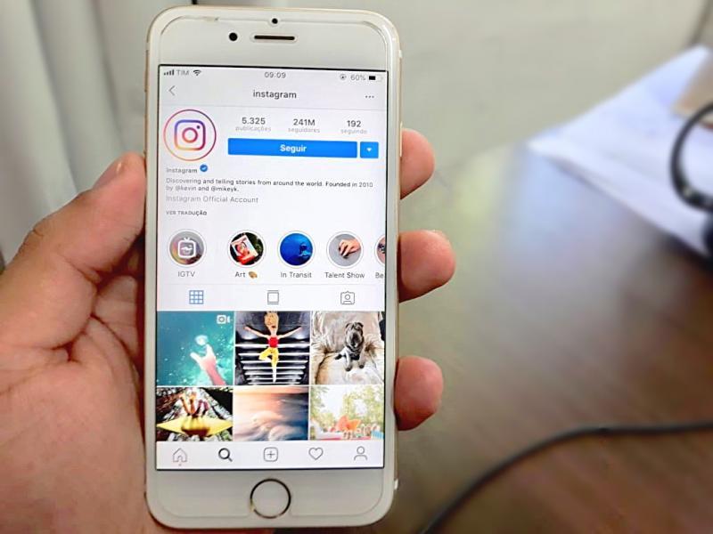 Função no Instagram revela quantas pessoas viram sua foto