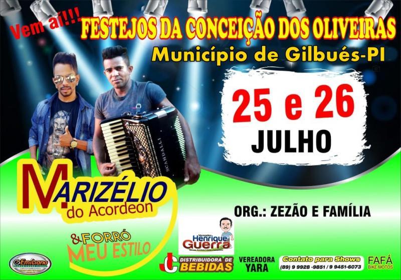 Vem aí Festejo da Comunidade Conceição dos Oliveiras em Gilbués-Pi