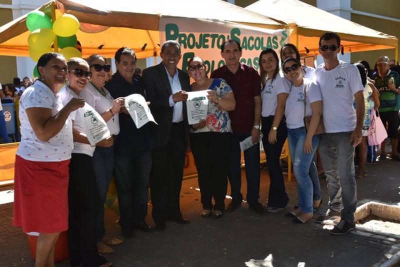 Secretaria de Meio Ambiente e Recursos Naturais desenvolve ações no aniversário de Floriano