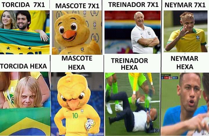 Memes da Copa do Mundo 2018: Brasil x Bélgica