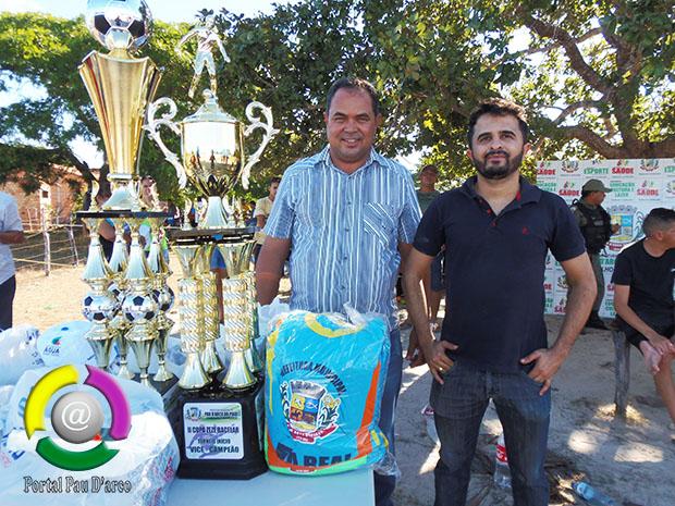 Prefeitura de Pau D'arco fez abertura do Campeonato Municipal de Futebol 2018