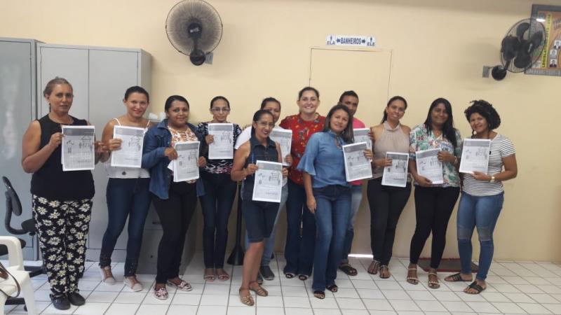 Profissionais da saúde de Pau D'arco recebem capacitação contra a tuberculose