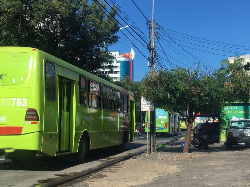 Strans reduz frota de ônibus por conta do jogo do Brasil
