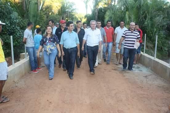 Deputados Limma e Assis Carvalho inauguram Ponte na divisa de São João do Arraial e Matias Olímpio