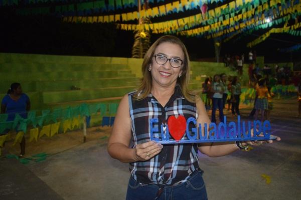 Prefeita Neidinha Lima, agradece a todos que colaboraram e participaram do 2º Cidade Junina