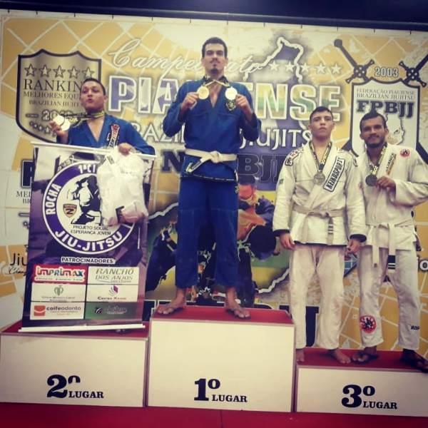 Atleta Guadalupense vence em duas categorias no 15° Campeonato Piauiense de Jiu-Jitsu
