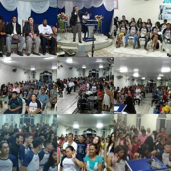 Encontro de Jovens da Igreja Assembleia de Deus Madureira foi um Sucesso