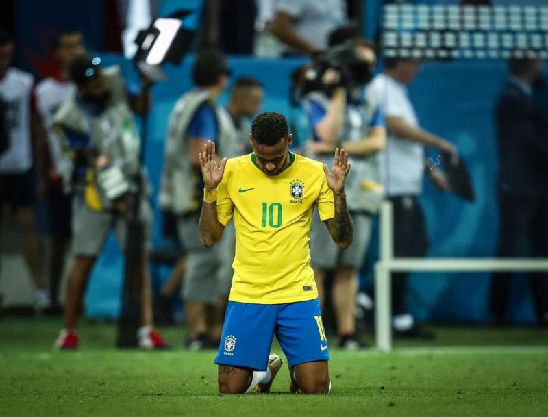 Neymar rompe silêncio e fala sobre eliminação da Copa