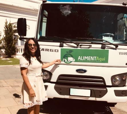 Prefeita Doquinha recebeu do Governo do Estado um caminhão para a agricultura de Colônia do Gurgueia