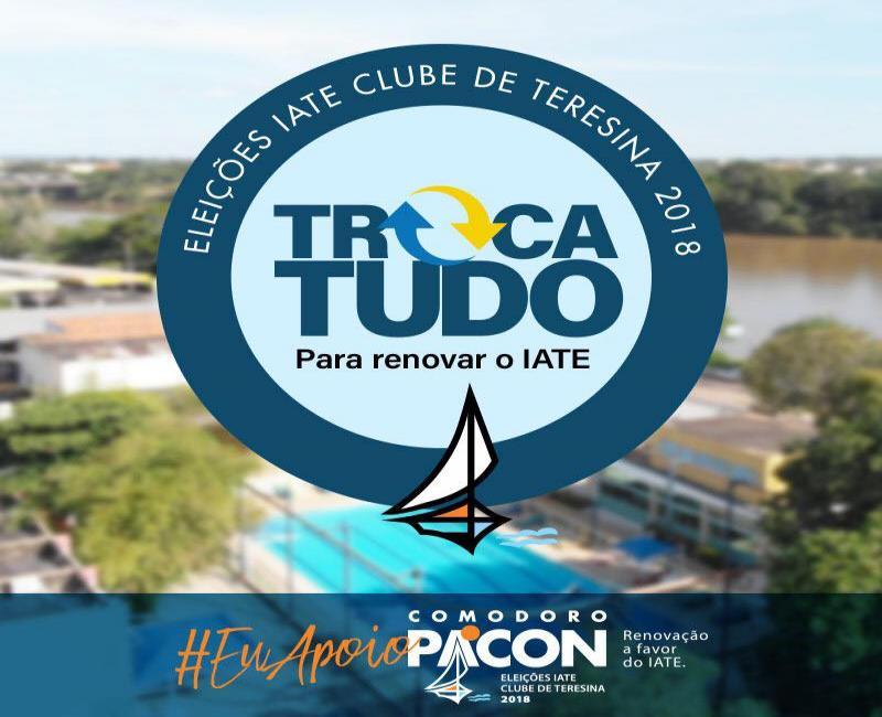 Paulo Pacon lança campanha para Comodoro do Iate Clube de Teresina