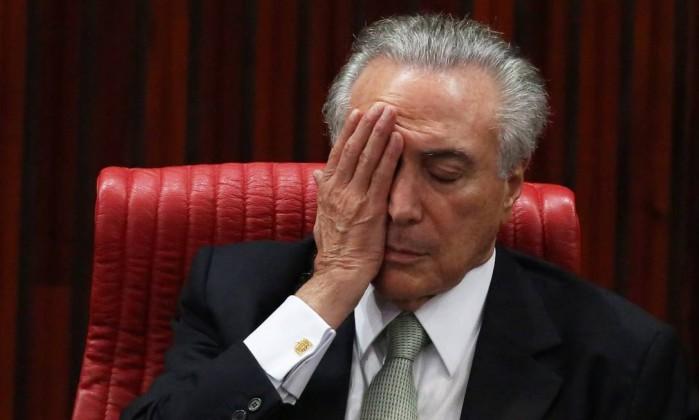 Temer passa mal e é levado para hospital de Brasília