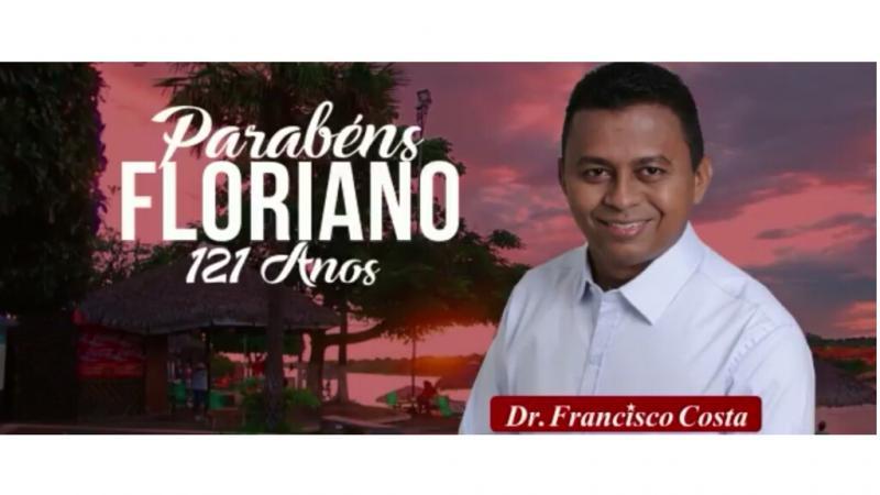 Dr. Francisco Costa homenageia a Princesa do Sul pelos seus 121 anos