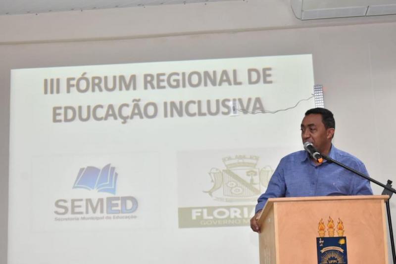 III Fórum Regional de Educação Inclusiva abre o sábado de comemorações do aniversário da cidade