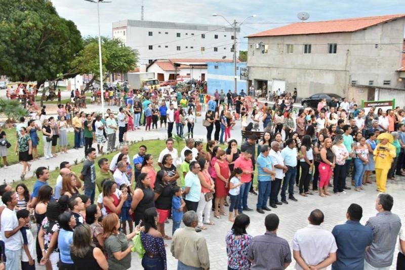 Reforma da praça de convivência e Academia Popular do bairro Catumbi são entregues