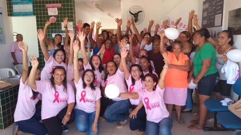 Caminhada Outubro Rosa acontece nesta quarta (25) em Amarante