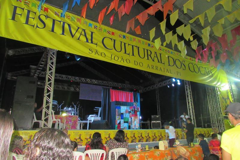 Veja como foi a terceira noite do XIV Festival Cultural dos Cocais