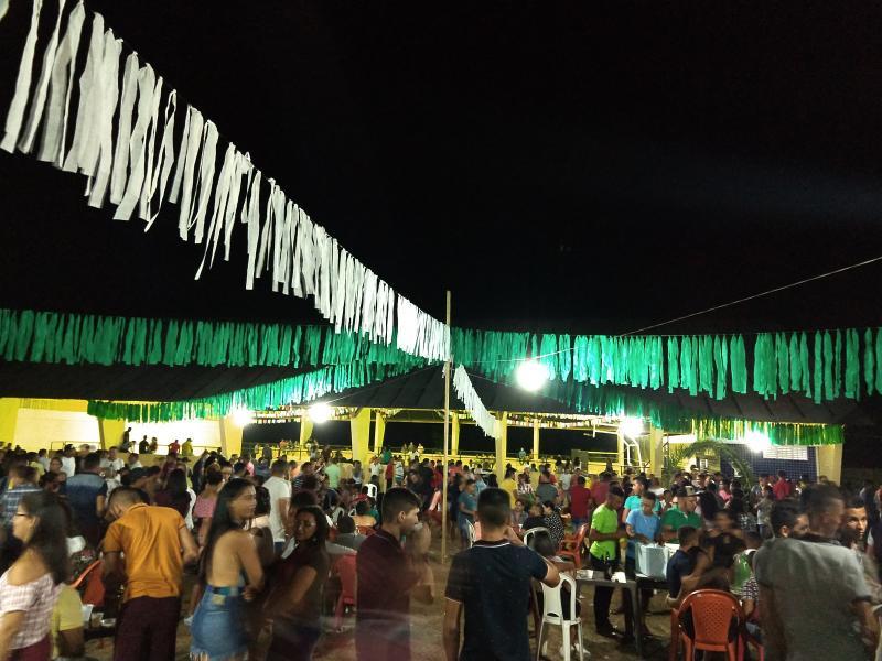 Demerval Lobão | Junina Lua de Prata marca presença no arraiá da localidade Santo Elias (zona rural)