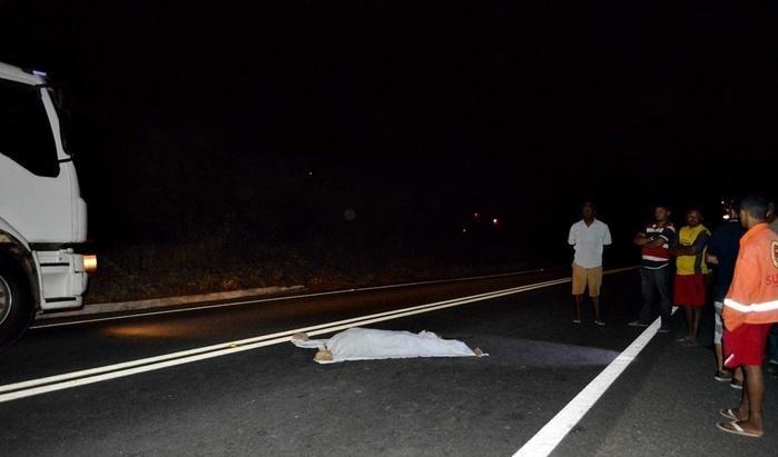 Idoso tem a cabeça decepada em acidente na BR-316